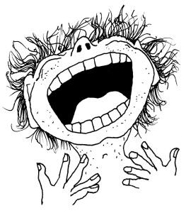 Laugh-drawing